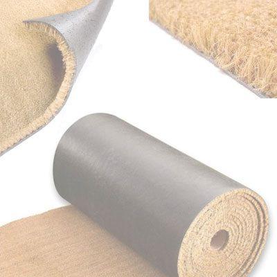 Rollos de felpudo de coco en liquidación