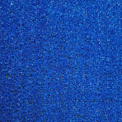 Césped artificial Azul para jardines interior y exteriores